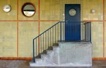 Seiteneingangstür, Ludwig-Georgs-Gymnasium in Darmstadt