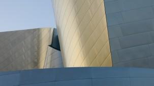 Fassadenformen der Walt-Disney-Concert-Hall in Los Angeles