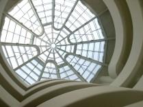 Die große Glaskuppel im Guggenheim-Museum in New York ist unverwechselbar.