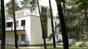 Dessau: Die im Krieg nicht zerstörten Meisterhäuser wurden ab 1993 denkmalgerecht saniert.