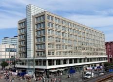 Das Alexanderhaus wird von der Berliner Sparkasse genutzt. Hier wird gerade erneut renoviert.