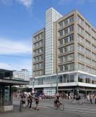 Die achtgeschossigen Gebäude wirken auch fast neuzig Jahre nach der Fertigstellung noch hochmodern.