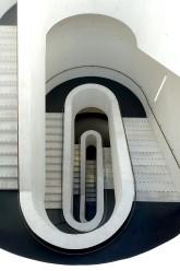 Treppenturm des Staatstheaters Darmstadt, erbaut 2006
