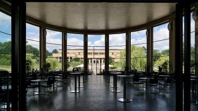 Die Rotunde, in der schon der spätere US-Präsident Eisenhower tagte, wurde eine Cafeteria für die Studierenden.