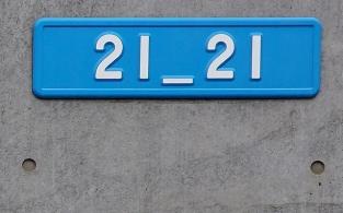 Das Logo 21_21 ist in der internationalen Designszene inzwischen weltbekannt