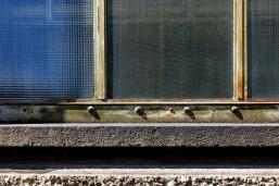 Die Patina auf den Stahl- und Glaselementen gibt dem Gebäude heute einen unverwechselbaren Charme.