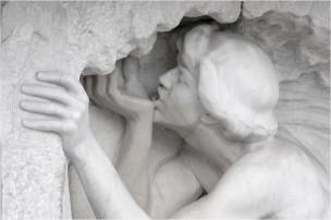 Der trinkende Jüngling am Marmorbrunnen von Ludwig Habich